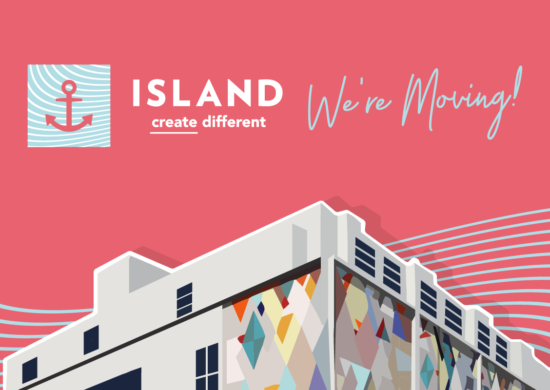 ISLAND is on the Move